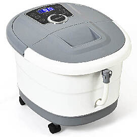 electric gray foot spa